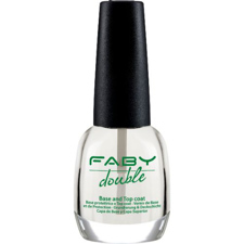 Faby Double Base and Top Coat bazni lak in nadlak