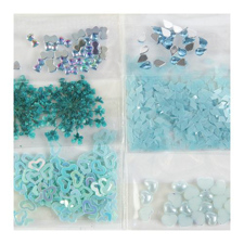 Sibel Dekoracija za nohte -modra
