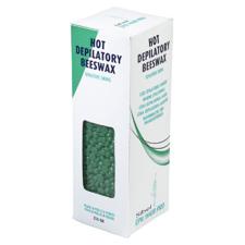 Sibel Čebelji vosek v granulah 250g - za občutljivo kožo - zelen