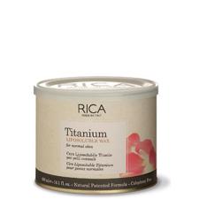 Rica Vosek za depilacijo - za normalno kožo - Titanium