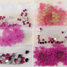 Sibel Dekoracija za nohte -roza