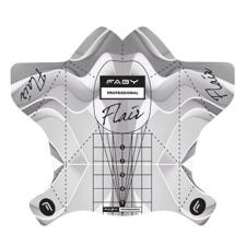 Faby šablone za podaljševanje Flair Nail Forms 300kos