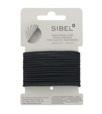 elastike za lase tanke črne