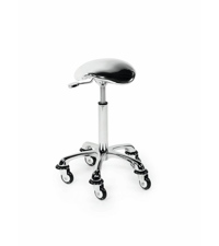 Delovni stol Rollercoaster Eccentric - srebrn