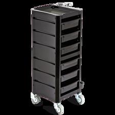 Frizerski voziček AGV Pier - črn