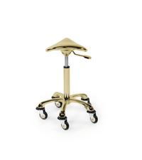 Delovni stol Rollercoaster Eccentric - zlat