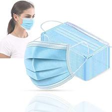 Zaščitna maska za obraz 3-slojna 50kos
