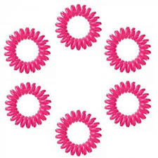 Elastike za lase -  roza