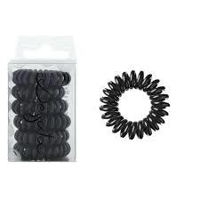 Elastike za lase - črne